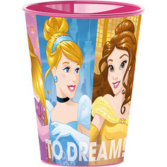 Стакан пластиковый 260 мл., Принцессы Disney Stor