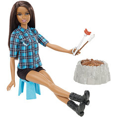 Кукла у костра Barbie Брюнетка Mattel