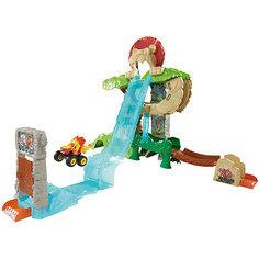 """Игровой набор Fisher-Price Вспыш и чудо-машинки """"Энимал Айлэнд"""" Mattel"""