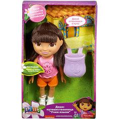 Кукла Даша-Путешественница Говорим по-разному Mattel