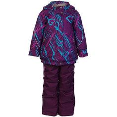 """Комплект: куртка и полукомбинезон """"Галата"""" OLDOS для девочки"""