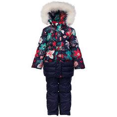 """Комплект: куртка и полукомбинезон """"Ромашка"""" OLDOS для девочки"""