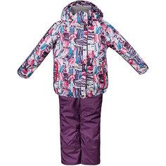 """Комплект: куртка и полукомбинезон """"Юта"""" OLDOS для девочки"""