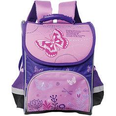 Ранец Premium box полужесткий с дизайном Бабочки Limpopo