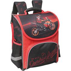 Ранец Premium box полужесткий с дизайном Мото Limpopo