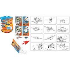 """Набор для рисования """"Раскраска шпиона"""" Disney Самолеты Limpopo"""