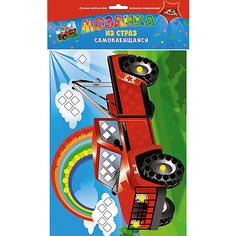 Набор для детского творчества Мозаики для самых маленьких Ракета-Грузовик-Рыбки, Груши Апплика