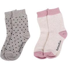 Носки Button Blue 2 пары для девочки
