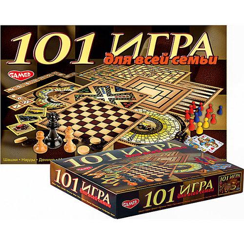 """Настольная игра """"101 игра для всей семьи"""" Dream makers"""