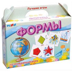 """Развивающая игра-пазл """"Формы"""" Dream makers (20 деталей)"""