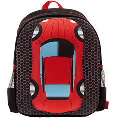 """Рюкзак """"Машина"""", цвет черный с красным 3D Bags"""