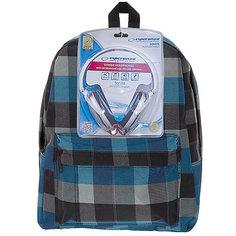 """Рюкзак """"Клетка"""" с наушниками, цвет мульти в клетку 3D Bags"""