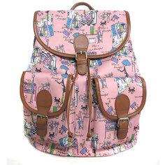 """Рюкзак """"Модница"""" с 2-мя карманами, цвет розовый Creative LLC"""