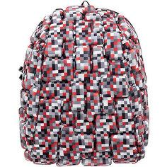 """Рюкзак """"Blok Half"""" Digital RED, цвет красный мульти Mad Pax"""