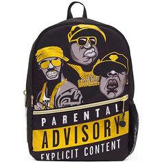 "Рюкзак ""Straight Outta Brooklyn: Rappers"", цвет черный/желтый Mojo PAX"
