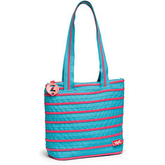 Сумка Premium Tote/Beach Bag, цвет голубой/салатовый Zipit