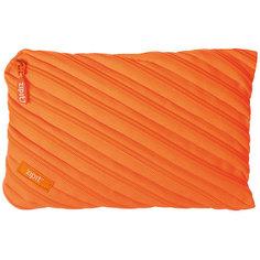 Пенал-сумочка NEON JUMBO POUCH, цвет оранжевый Zipit
