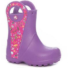 Резиновые сапоги Handle It Graphic Boot K для девочки Crocs