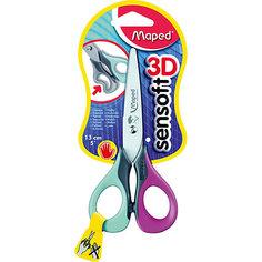 """Ножницы для левшей Maped """"Sensoft"""", 13 см"""