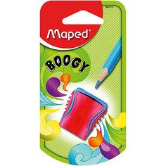 """Точилка Maped """"Boogy"""", пластиковая, 1 отверстие"""