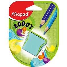 """Точилка Maped """"Boogy"""", пластиковая 2 отверстия"""