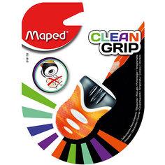"""Точилка Maped """"Clean Grip"""", пластиковая 1 отверстие"""