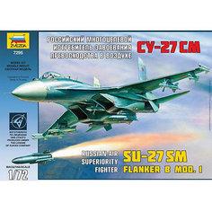 """Сборная модель Звезда """"Самолет Истребитель Су-27СМ"""", 1:72"""