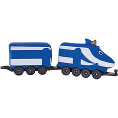 Паровозик Jazwares Chuggington, Ханзо с вагончиком