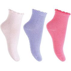 Носки, 3 пары  PlayToday для девочки