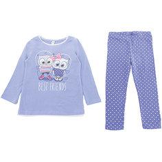 Комплект: футболка с длинным рукавом и брюки PlayToday для девочки