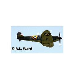 Самолет Истребитель Спитфайэр Mk II, британский времен Второй Мировой Войны Revell