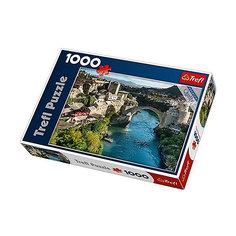 Пазлы Trefl Старый мост в городе Мостар, Босния и Герцеговина, 1000 элементов