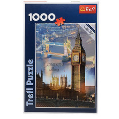 Пазлы Trefl Лондон на рассвете, 1000 деталей