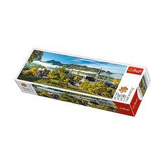 Пазлы панорамные «На берегу озера, Шлирзе», 1000 деталей Trefl