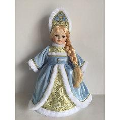 """Кукла декоративная """"Снегурочка Ирочка"""", на подставке Magic Time"""