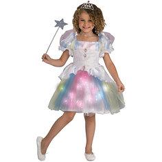Детский маскарадный костюм для девочек из полиэстра, трикотаж Magic Time