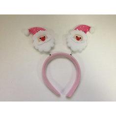 Новогоднее украшение Дед Мороз в розовом колпаке Magic Time