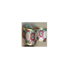 Лента новогодняя Яркий праздник арт.42825 из сатина на картонной катушке Magic Time
