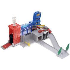 Пожарная станция Играем вместе, 3 машинки и вертолет