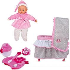 """Игровой набор Dimian """"Bambolina Boutique. Кровать с куклой"""", 36 см"""