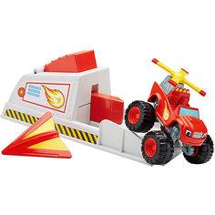 """Игровой набор Mattel Fisher Price """"Вспыш и чудо-машинки"""", Вспыш с пусковым устройством"""
