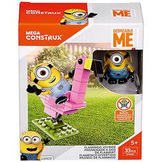 """Конструктор Mattel Mega Construx """"Миньоны"""" Катание на фламинго, 33 детали"""