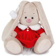 Мягкая игрушка Budi Basa Зайка Ми в алом платье, 32 см