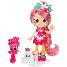 """Мини-кукла Moose Shopkins Shoppies """"Цветочная"""" Люси Смузи, 15 см"""