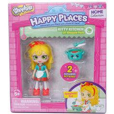 """Мини-кукла Moose Shopkins """"Счастливые места"""" Спагетти Сью и фигурки Петкинс, 13 см"""