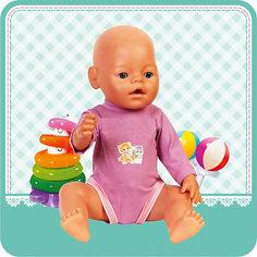 """Одежда для куклы Карапуз """"Боди"""", 40-42 см (розовое)"""