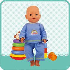 "Одежда для куклы Карапуз ""Кофточка и бриджи"", 40-42 см"