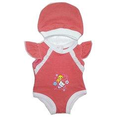 """Одежда для куклы Карапуз """"Боди с шапочкой"""", 40-42 см"""