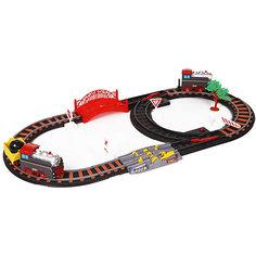 """Железная дорога Yako Toys """"Останови крушение!"""", 2 стрелки, механизм остановки, семафор"""