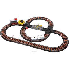 """Железная дорога Yako Toys """"Останови крушение!"""", 2 перекрестка, механизм остановки"""